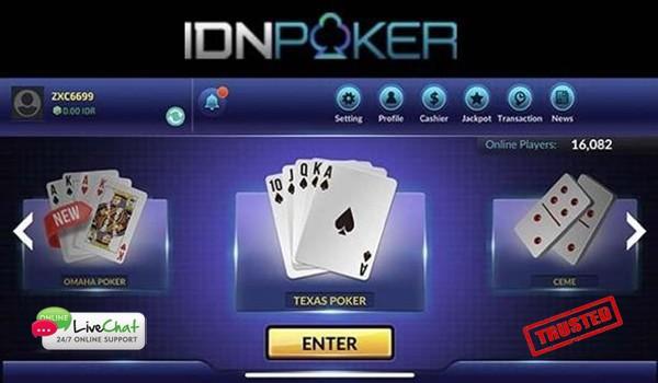 Agen Idn Poker Online Cara Melakukan Deposit dan Withdraw