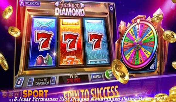 3 Jenis Permainan Slot Dengan Keuntungan Paling Besar 2021